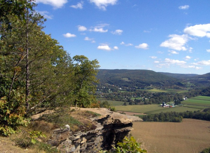 From the top of Vroman's Nose, looking northwest