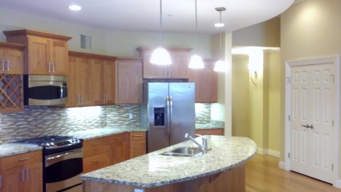 Kitchen in a Syracuse Trust condo