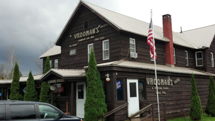 Vrooman's Hotel in Caroga Lake