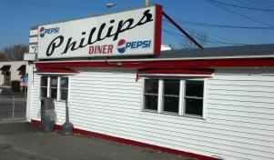 The Phillips Diner in Ogdensburg.
