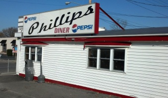 The Phillips Diner in Ogdensburg.