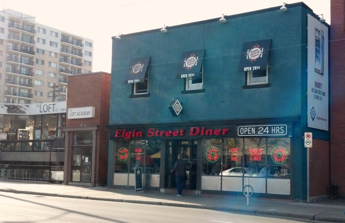 The Elgin Street Diner.