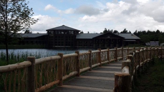 The Wild Center in Tupper Lake