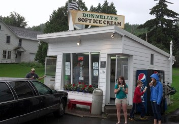 Donnelly's Soft Ice Cream stand