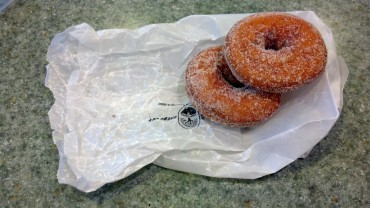 Donuts from the Cider Mill