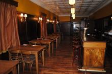 Gerber's is seen pre-opening but post-renovation.